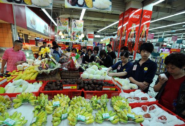 重庆举办泰国水果节