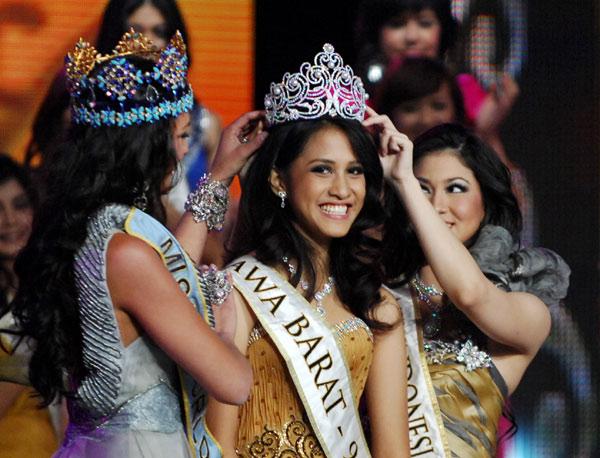 """印尼2010年""""世界小姐""""揭晓"""
