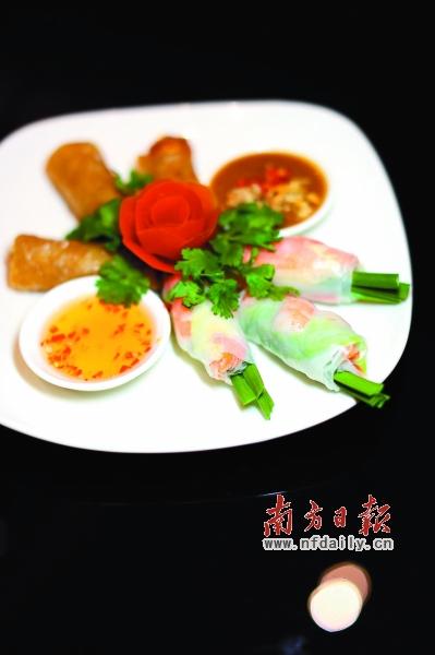 寻味越南式酸爽鲜香(图)