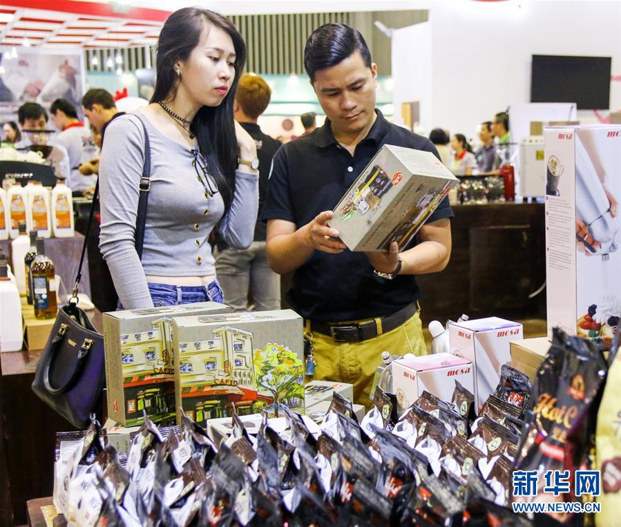(國際)(3)2017越南國際咖啡展銷會在胡志明市舉辦