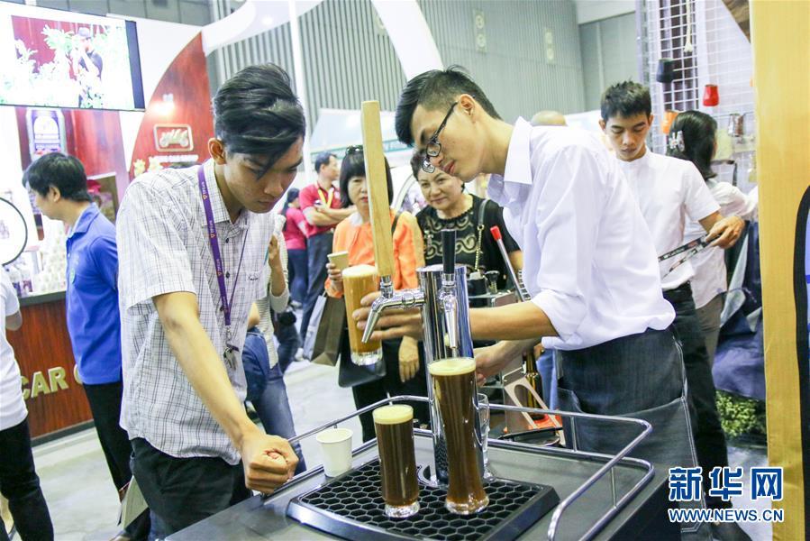 (國際)(4)2017越南國際咖啡展銷會在胡志明市舉辦