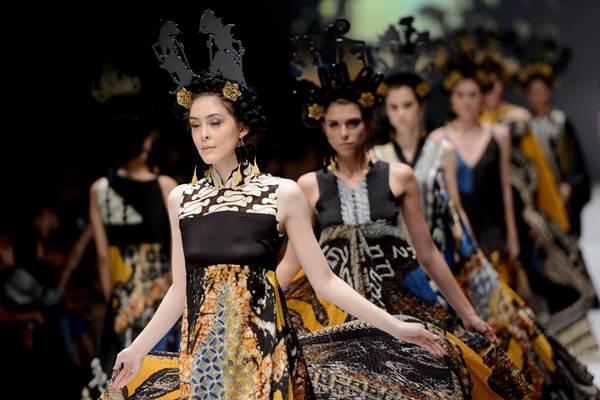 雅加达时装周(印尼驻华使馆提供)