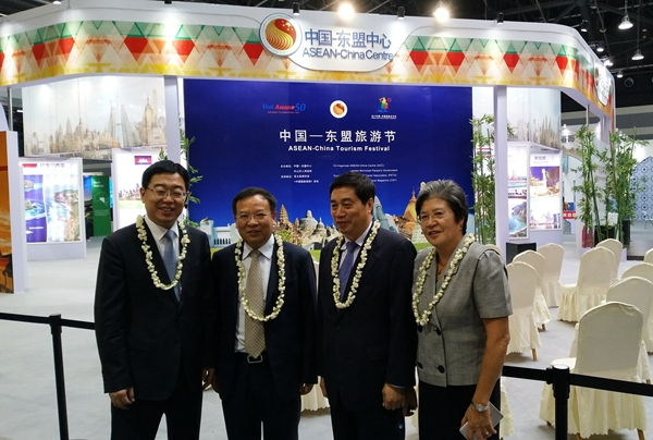 ACC Secretary-General Visited the Pavilion of the 4th Sichuan International Travel Expo