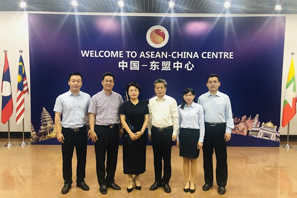 ACC Secretary-General Chen Dehai Met with Deputy Director-General of Culture and Tourism Department of Hebei Province