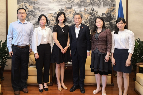 ACC Secretary-General Met with Director of Foreign Affairs Office of Meishan City, Sichuan Province