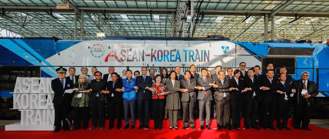 ACC Secretary-General Chen Dehai Attended the ASEAN-Korea Train Program