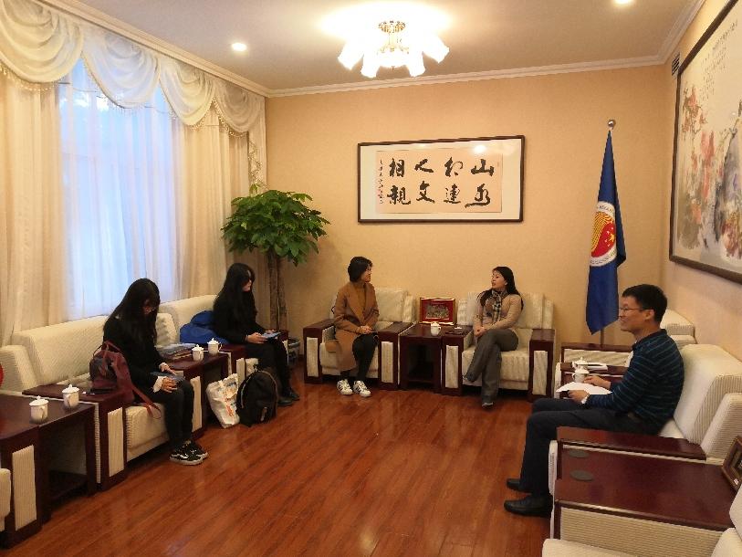 Delegation of Nanjing UniversityStudent Career Development Centre Visited ACC