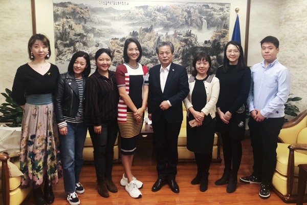 The Working Group of the Culture and Tourism Documentary Be Your Way Visited ACC