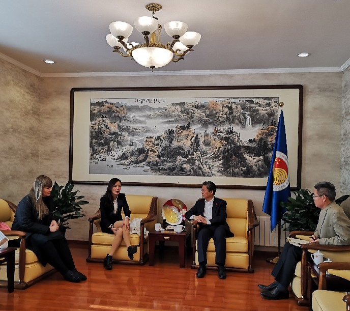 ACC Secretary-General Met with Chairman of Thai Central Chinese Television Group