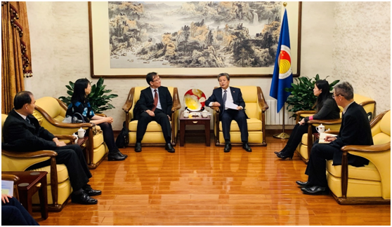 ACC Secretary-General Chen Dehai Met with Secretary-General of Trilateral Cooperation Secretariat