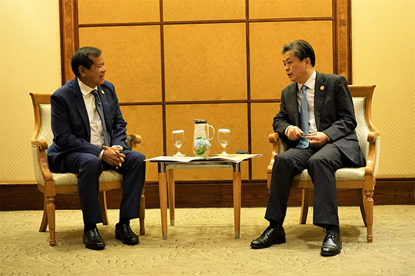 ACC Secretary-General Chen Dehai Met with Tourism Minister of Cambodia