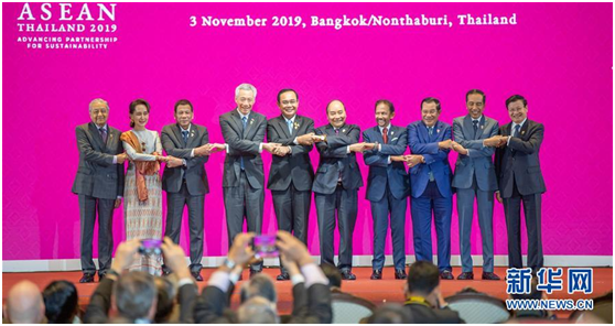 Secretary-General Chen Dehai attended the Opening Ceremony and the Gala Dinner of the 35th ASEAN Summit and Related Events