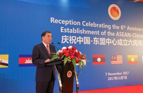 孔铉佑部长助理在中国—东盟中心成立六周年招待会上的致辞
