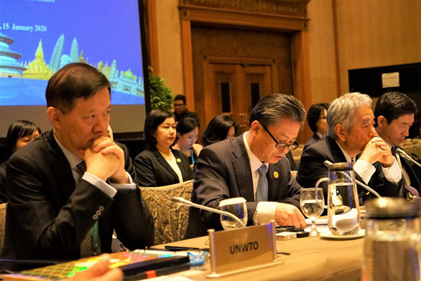 ACC Secretary-General Chen Dehai Addressed the 23rd Meeting of ASEAN Tourism Ministers and the 19th Meeting of APT Tourism Ministers (2020-01-15)