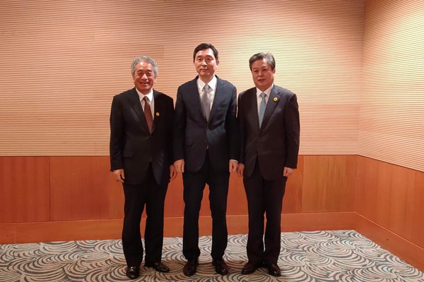 ACC Attended the 14th Meeting among Secretaries General of ASEAN-China Centre, ASEAN-Japan Centre and ASEAN-Korea Centre