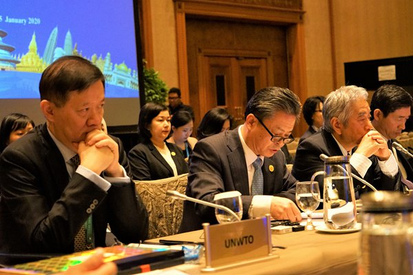 ACC Secretary-General Chen Dehai Addressed the 23rd Meeting of ASEAN Tourism Ministers and the 19th Meeting of APT Tourism Ministers