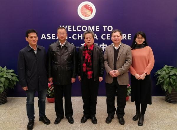 陈德海秘书长会见中国—马来西亚钦州产业园区管理委员会副主任林海波