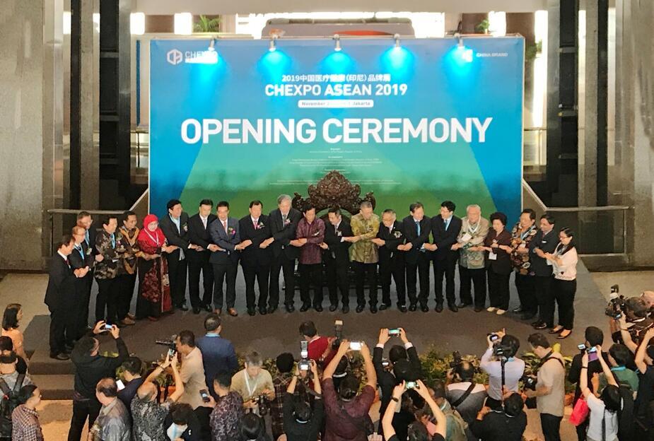 中国—东盟中心代表参加第二届中国医疗健康(印尼)品牌展等活动