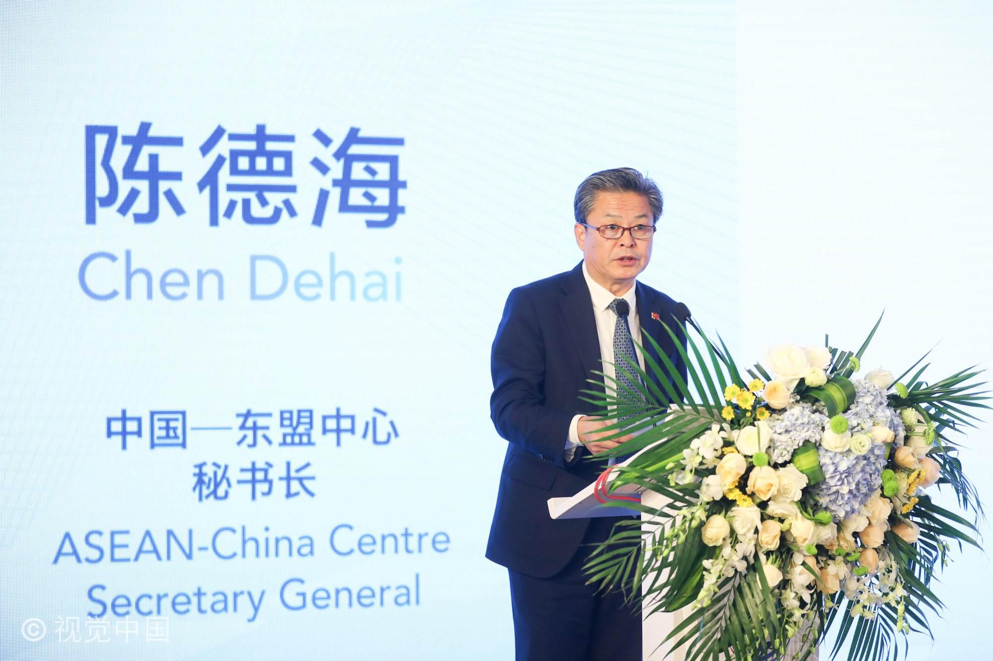 陈德海秘书长在中国—东盟中心成立八周年招待会上的讲话