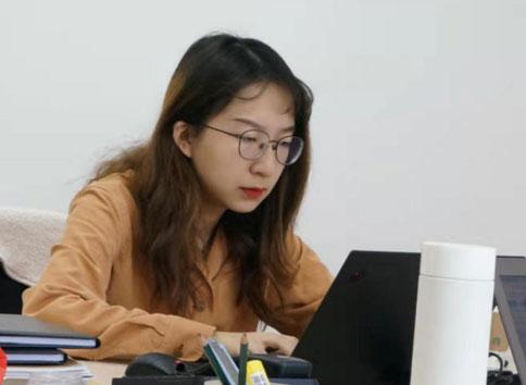 北京大學在校生劉琪在中國—東盟中心的實習心得