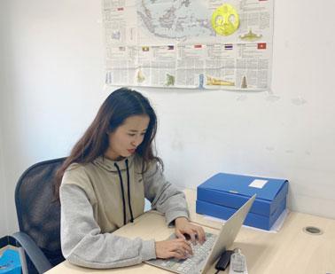 雲南大學在讀研究生李代霓在中國—東盟中心的實習報告
