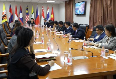 中国—东盟中心举办网络安全专题讲座