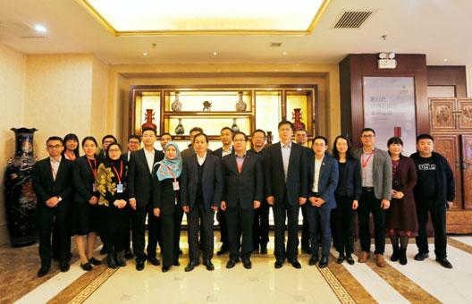 中国—东盟中心组织东盟国家驻华使馆外交官及驻京记者访问陕西