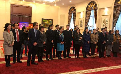 中国—东盟中心出席越南驻华使馆新年媒体见面会