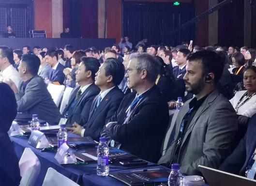 陈德海秘书长出席2019CGTN全球媒体峰会暨全球视频媒体论坛开幕式