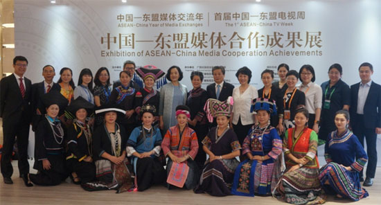 ACC Secretary-General Chen Dehai Visited Exhibition of ASEAN-China Media Coopera