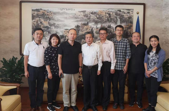 ACC Secretary-General Met with Vice-President of Shaanxi Broadcasting Corporati