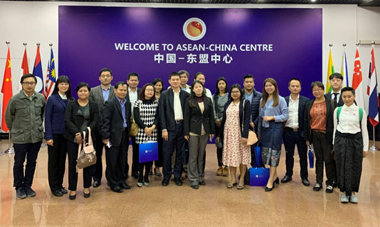 Delegationof ASEAN Mainstream Media Visited ACC