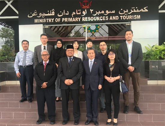 ACC Secretary-General Chen Dehai Led a Chinese Media Delegation to Brunei