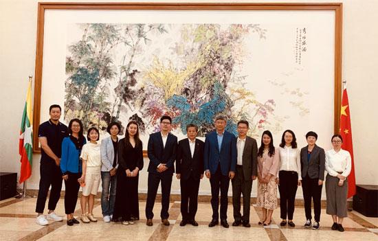 ACC Secretary-General Chen Dehai Led aChinese MediaDelegation to Myanmar