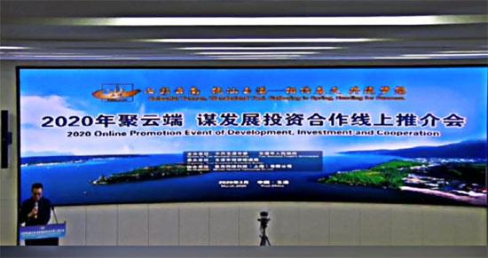中国—东盟中心参加玉溪市投资合作线上推介会