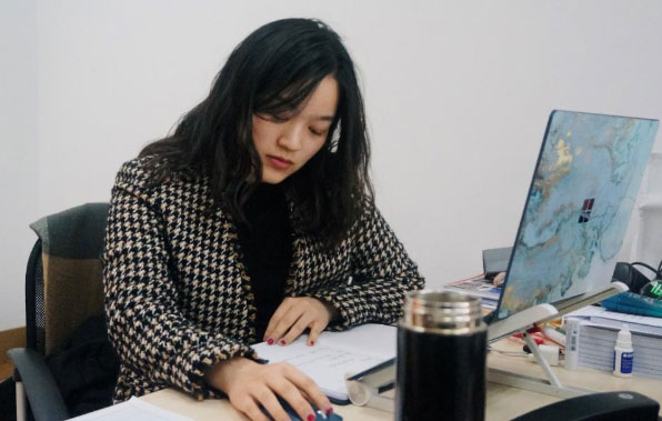 上海外國語大學研究生戴嬌在中國—東盟中心實習心得