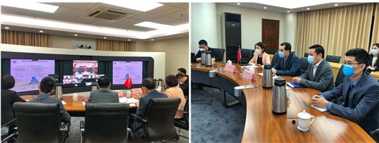 中国-东盟再次举行新冠肺炎疫情防控视频会议
