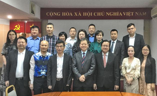 中国—东盟中心组织贸易投资促进团考察越南