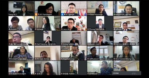 中国—东盟中心举办社交媒体专题线上工作坊