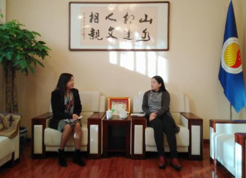 Dean of School of International Relations, Sichuan International Studies University Visited ACC