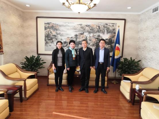 ACC Secretary-General Chen Dehai Met with Deputy Director of Yunnan Radio & TV Station International Channel