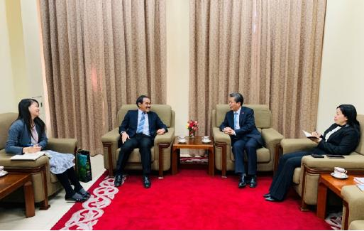 ACC Secretary-General Met with Ambassador of Brunei Darussalam to China