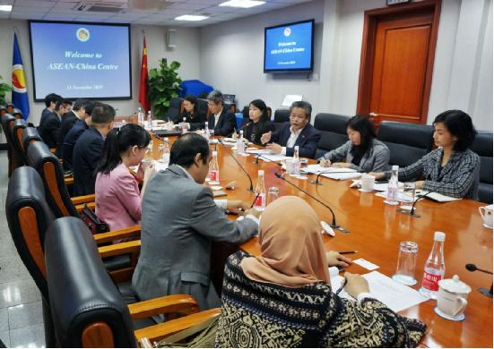 A Delegation of Mid to Senior Level ASEAN Diplomats Visited ACC