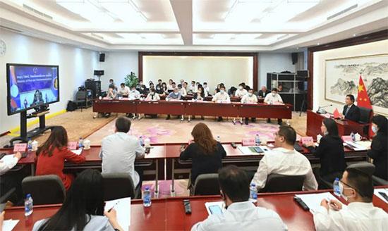 中國—東盟中心參加2020年中國—東盟數字經濟 合作年開幕式