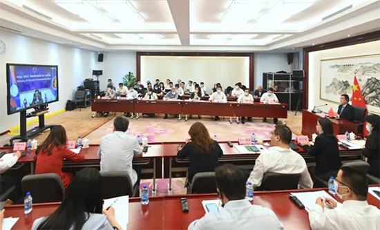 ACC Attended the Opening Ceremony of the ASEAN-China Year of Digital Economy Cooperation