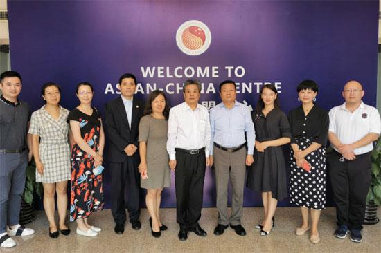 陈德海秘书长会见国际山地旅游联盟代表团一行