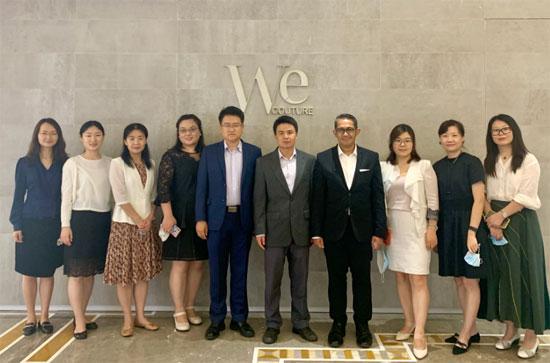 中国—东盟中心与中国主流媒体进行工作交流