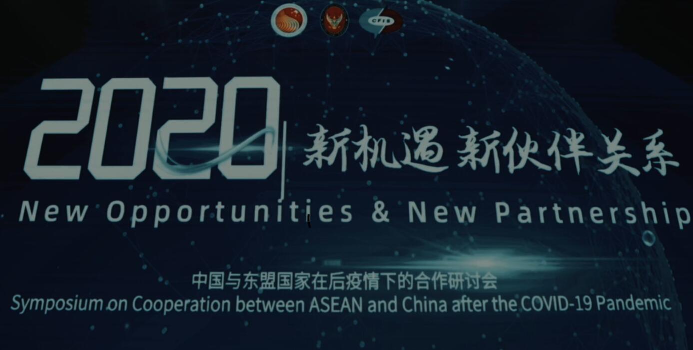 """""""新机遇、新伙伴关系—中国与东盟国家在后疫情下的合作""""研讨会成功举行(视频)"""