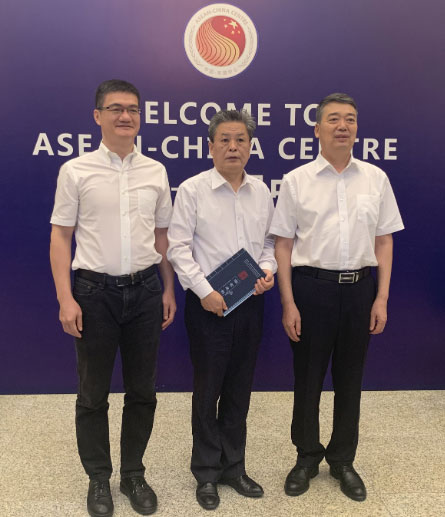 ACC Secretary-General Chen Dehai Met with Party Secretary of Hainan University