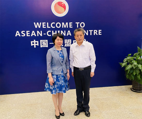 ACC Secretary-General Chen Dehai Met with DICE Director-General of MOE